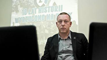 SP Zawisza zostaje usunięte z obiektów Zawiszy przy Gdańskiej. Młodzi piłkarze SP muszą szukać boisk, także poza Bydgoszczą (na zdjęciu Krzysztof Bess, prezes SP Zawisza)