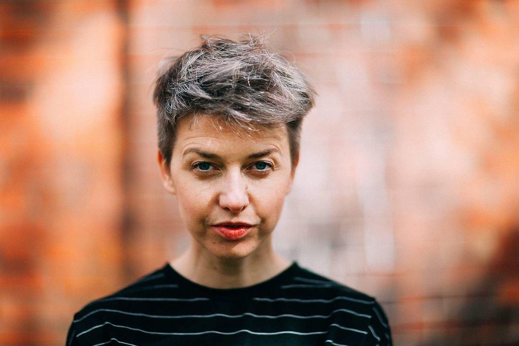 Justyna Sobczyk, założycielka Teatru 21. W tym roku odebrała Nagrodę im. Konstantego Puzyny przyznawaną przez miesięcznik 'Dialog' / ALBERT ZAWADA