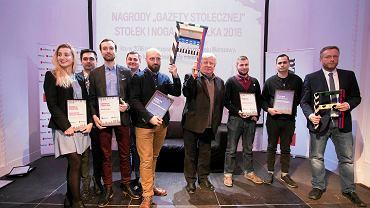 Jems architekci podczas wreczenia Stolka - Nagrody Gazety Stolecznej