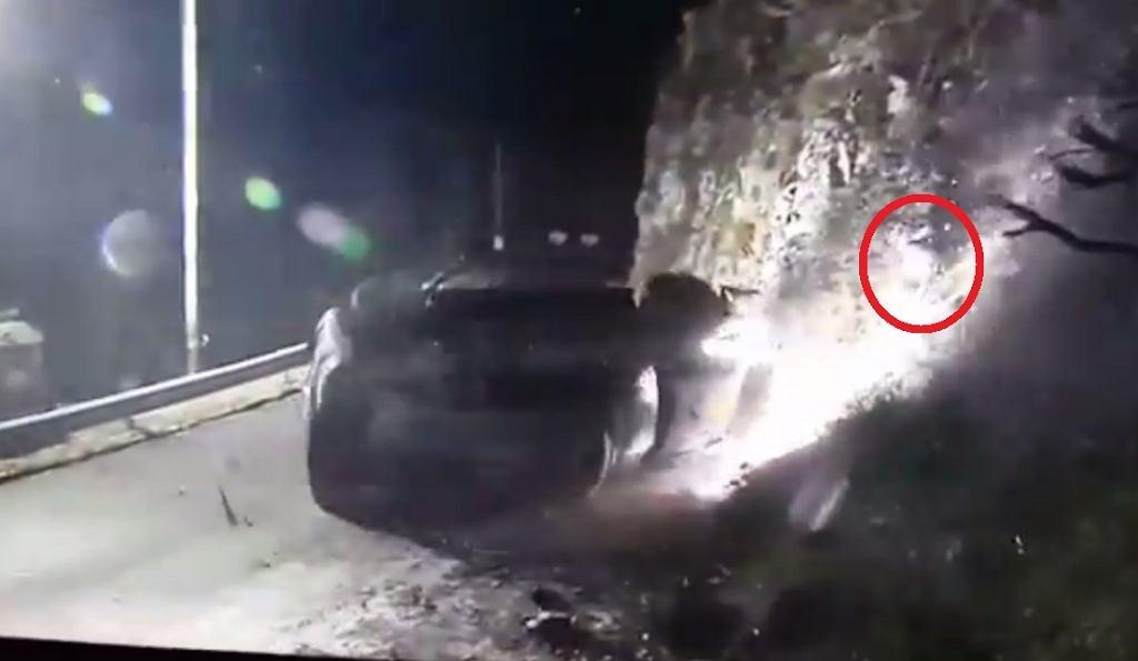 Wypadek podczas Rajdu Monte Carlo