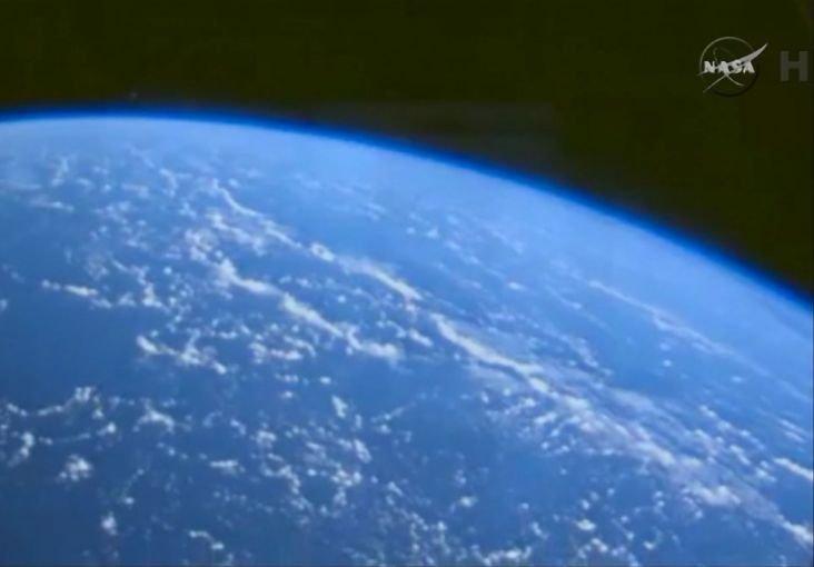 Ziemia widziana ze statku Orion