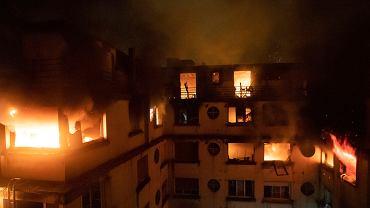 Pożar w Paryżu