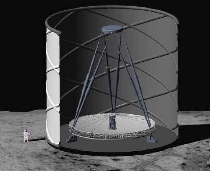 Ultimately Large Telescope na Księżycu