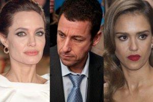 Angelina Jolie, Adam Sandler, Jessica Alba