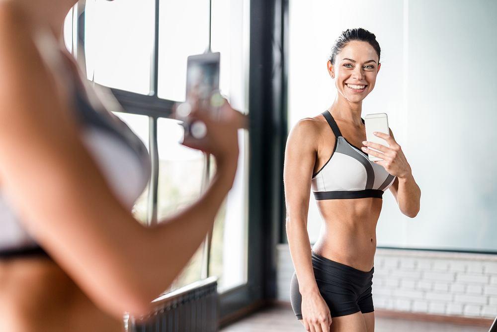 Dieta selfie polega na dokumentowaniu fotograficznym postępów w odchudzaniu