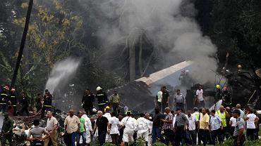 Kuba. Katastrofa samolotu w Hawanie