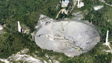 Portoryko. Zawalił się największy na świecie radioteleskop Arecibo. Naukowcy załamani