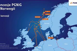 PGNiG na zakupach. Kupuje koncesje na wydobycie i poszukiwania gazu w Norwegii