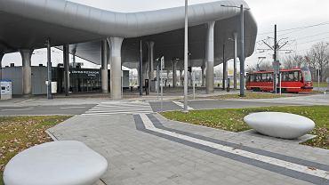 Centrum przesiadkowe w Katowicach Zawodziu