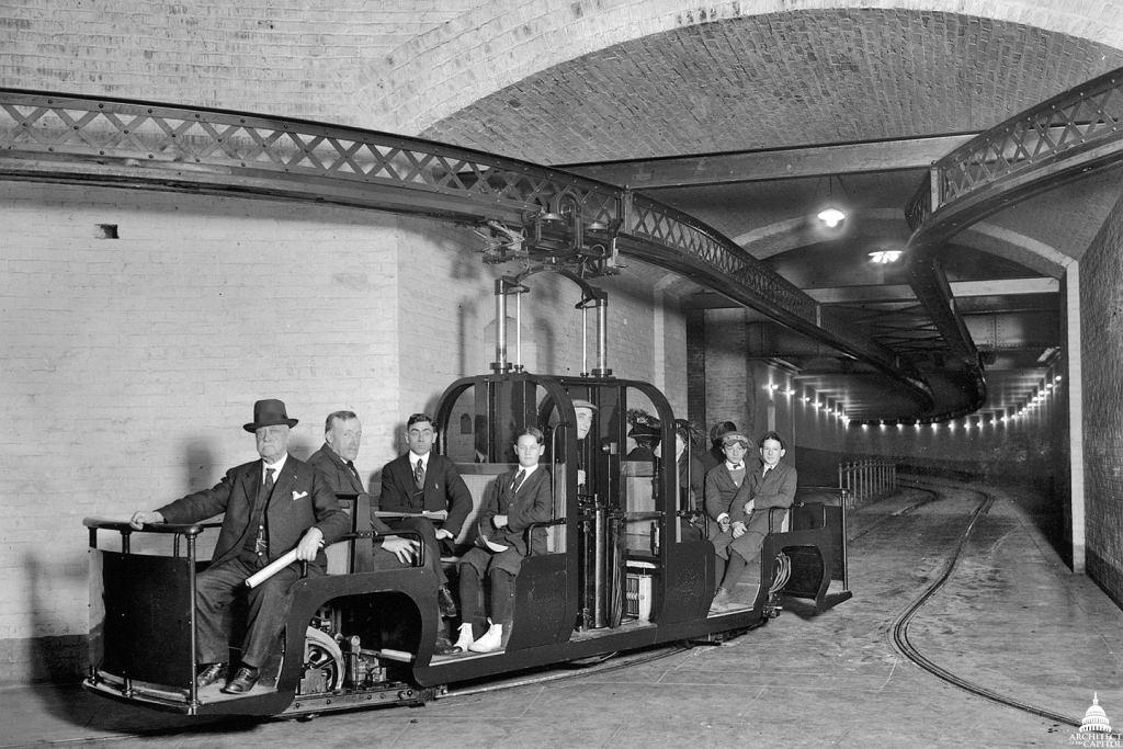 Capitol Subway System powstał w 1909 roku