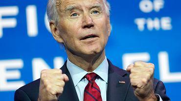 USA. Joe Biden obiecał 100 mln dawek szczepionek w 100 dni prezydentury
