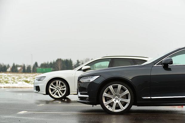 Opinie Moto.pl: Audi A6 Avant 50 TDI vs. Volvo V90 D5 - przestrzeń w wymiarze premium