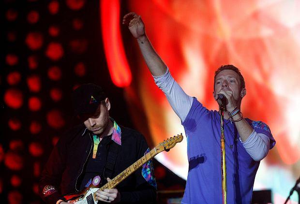 Coldplay na festiwalu Glastonbury