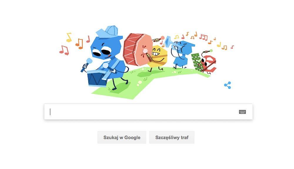 Google Doodle z okazji Dnia Dziecka 2018