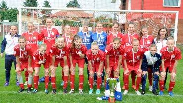 Piłkarki nożne TKKF Stilon Gorzów wywalczyły srebrny medal mistrzostw Polski w kategorii U-19