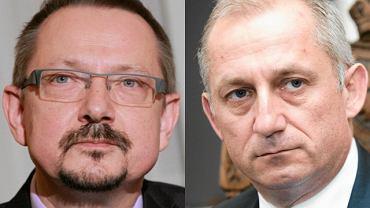 Jacek Krajewski i Sławomir Neumann