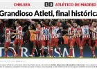 """Liga Mistrzów. Madrycka prasa: """"Pasja Atletico pokazała Mourinho, czym jest piłka nożna"""""""