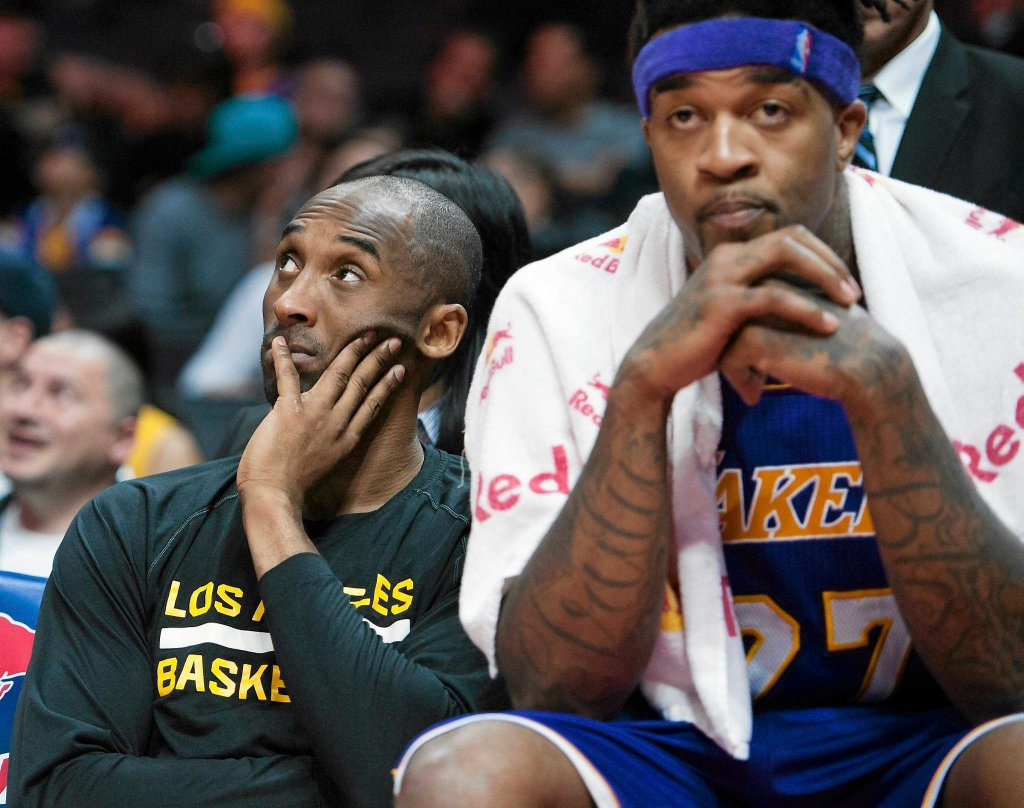 Kobe Bryant i Jordan Hill