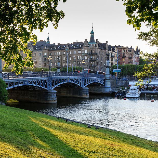 Sztokholm, wyspa Djurgarden, ulubione miejsce spacerów