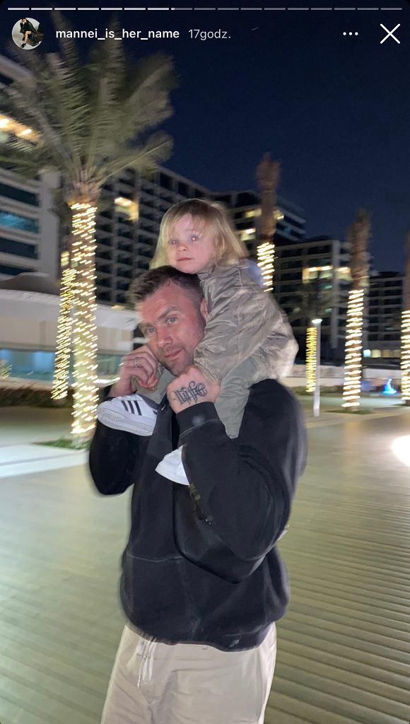 Sara Boruc na wakacjach w Dubaju