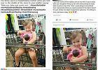 Dwulatka udaje, że karmi piersią lalkę. Internauta: Właśnie zobaczyłem najgorsze gó..... w życiu