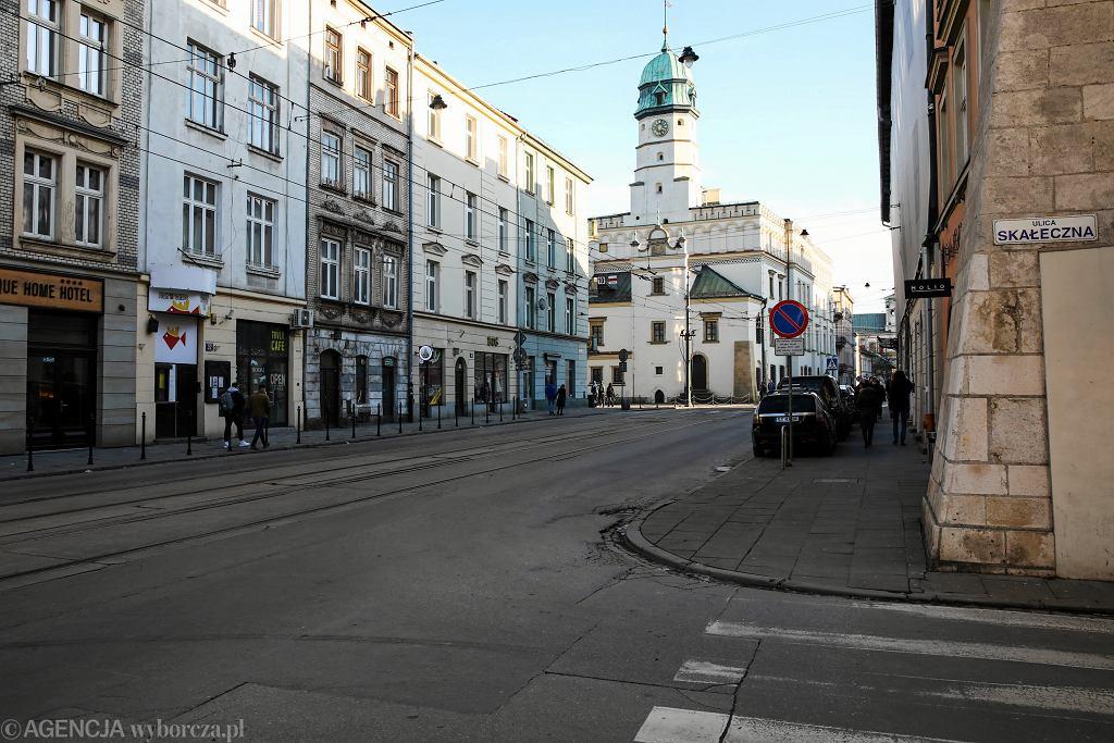 Kraków. Utrudnienia w ruchu na Łagiewnikach i przy moście Grunwaldzkim