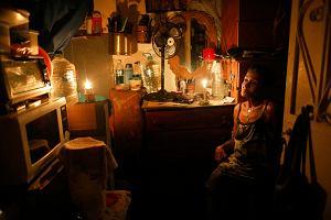 Wenezuela. 80 proc. kraju bez prądu. Przestępcy wywołali olbrzymi pożar na dziedzińcu elektrowni
