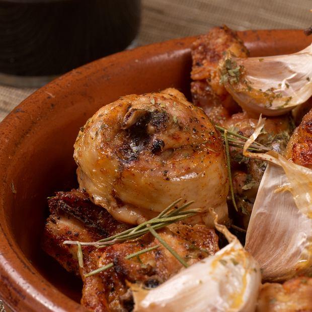 Kurczak w czosnku - potrawa hiszpańska