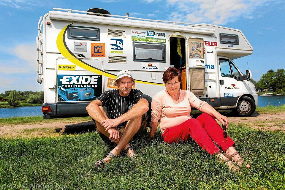 Teresa i Andrzej Walczakowie przemierzają świat kamperem