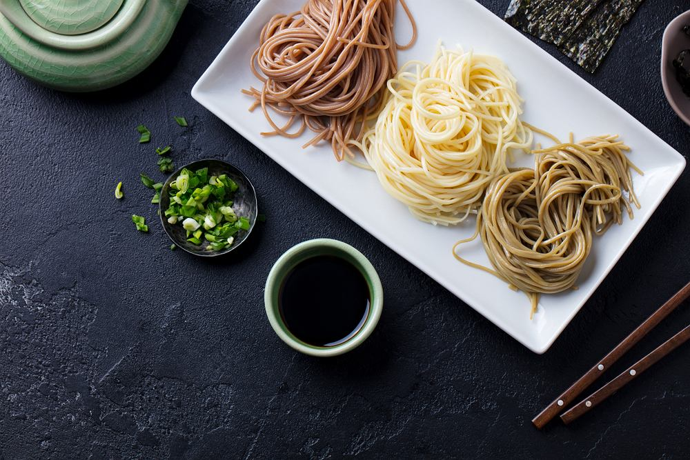 Makaron sojowy jest idealny dla osób będących na diecie bezglutenowej