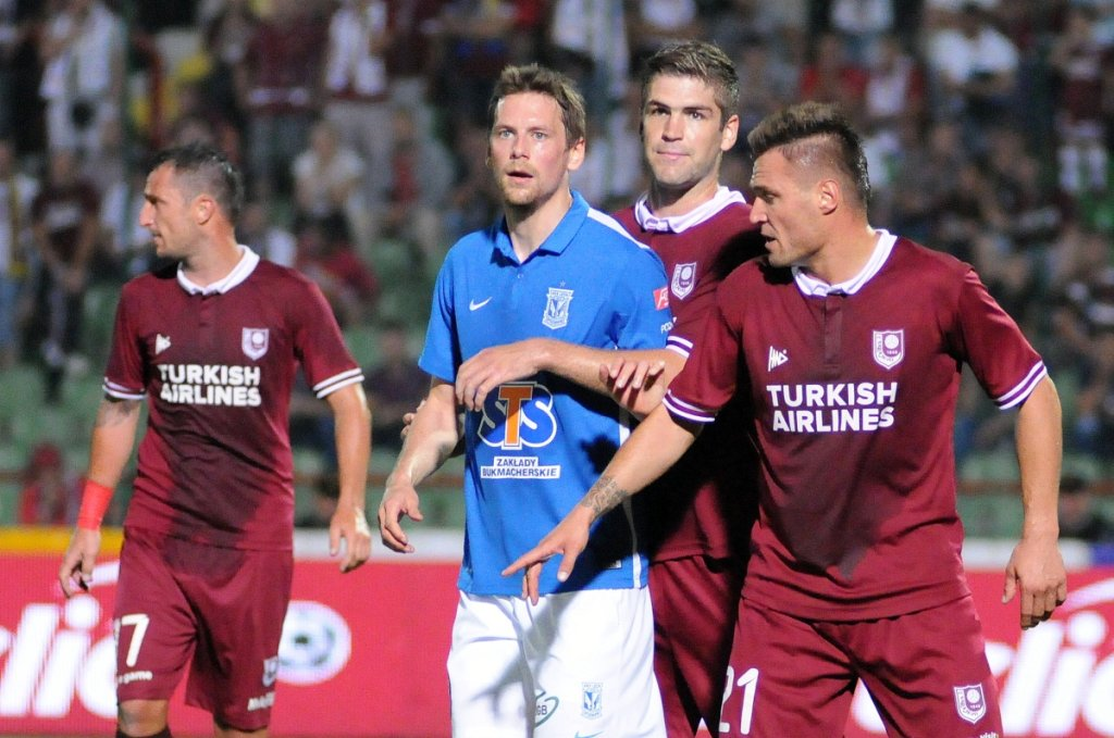 FK Sarajevo - Lech Poznań 0:2. Kasper Hamalainen
