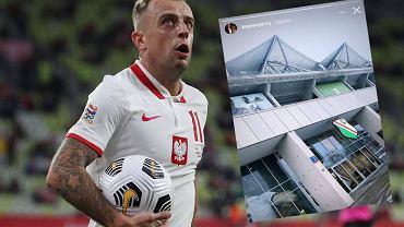 Kamil Grosicki, InstaStories agenta Jerzego Kopca