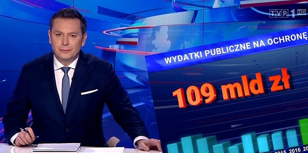 'Wiadomości' TVP z 16 lutego 2020
