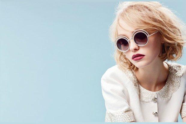 Lily-Rose Depp w kampanii Chanel Eyewear