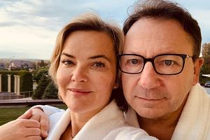 Monika Zamachowska dba o formę swojego męża podczas urlopu
