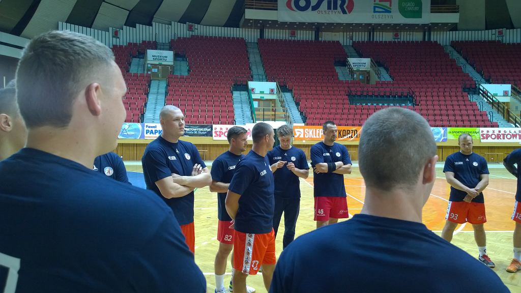 Warmia Traveland Olsztyn pod okiem nowego trenera rozpoczyna przygotowania do sezonu 2015/2016