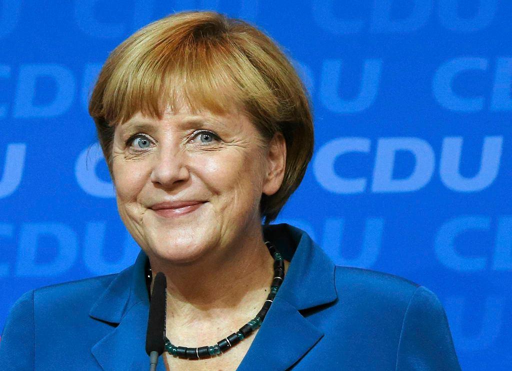 Angela Merkel. Szczęśliwa