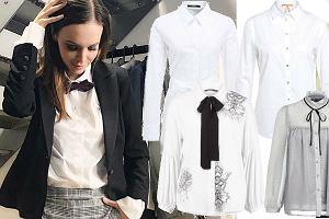 fot. biała koszula na jesień/ instagram @wendzikowska