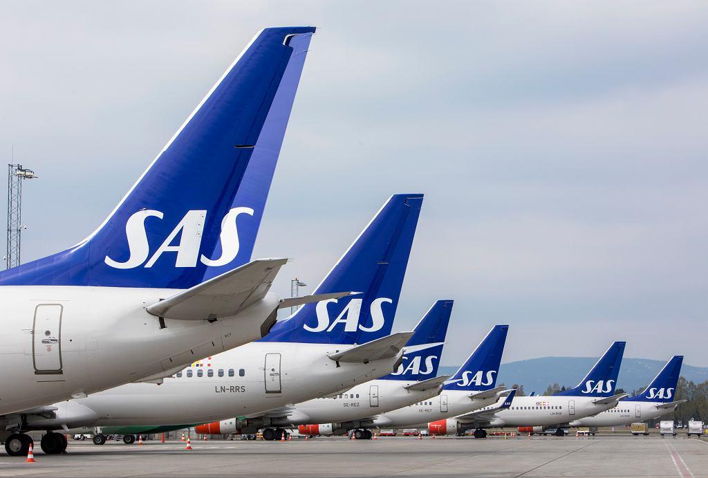 Samoloty linii SAS