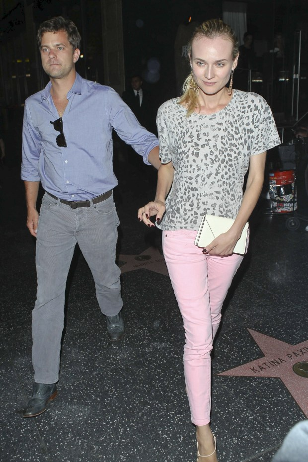 Hollywood, CA - Joshua Jackson and Diane Kruger enjoy a romantic sushi dinner at Katsuya in Hollywood, CA.    AKM-GSI          July 26, 2012    To License These Photos, Please Contact :      Steve Ginsburg   (310) 505-8447   (323) 4239397   steve@ginsburgspalyinc.com   sales@ginsburgspalyinc.com      or      Keith Stockwell   (310) 261-8649   (323) 325-8055    keith@ginsburgspalyinc.com   ginsburgspalyinc@gmail.com *** Local Caption ***  Joshua Jackson and Diane Kruger