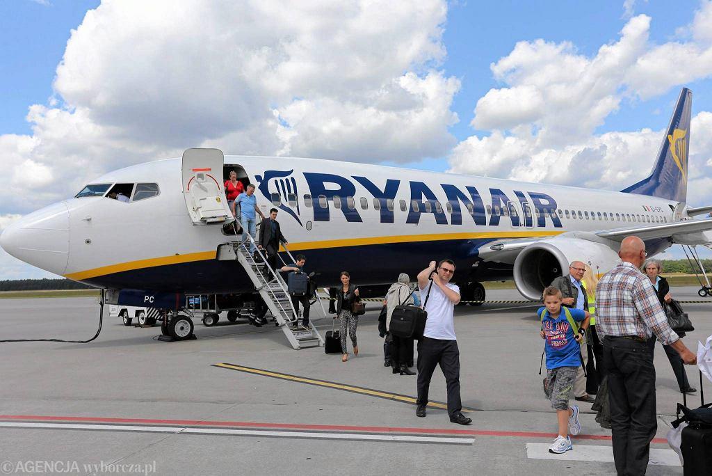 Ryanair na lotnisku w Modlinie, rok 2014