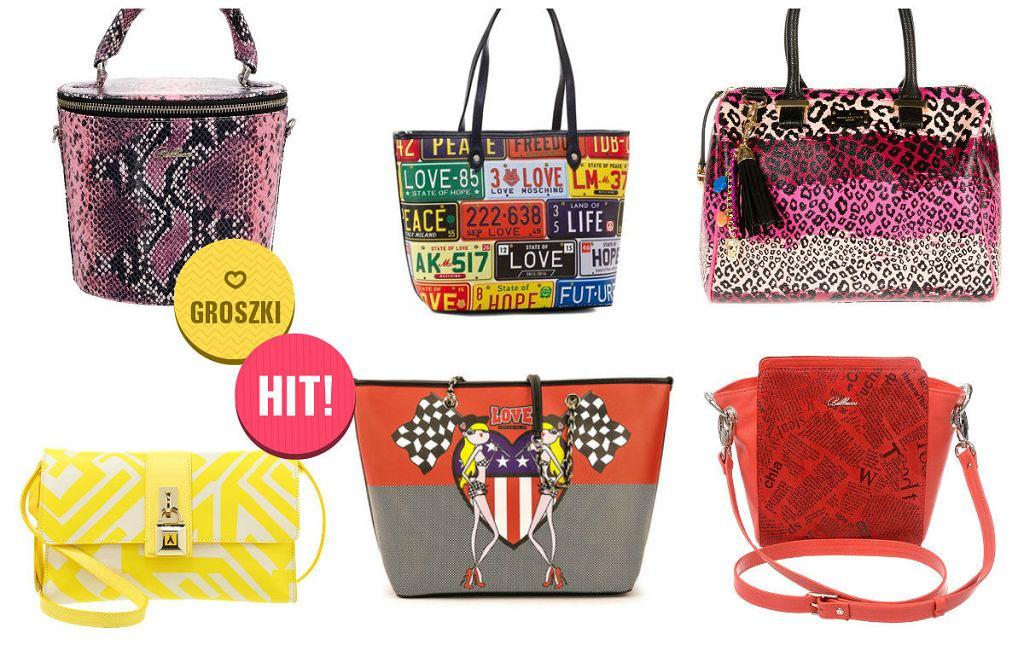 Kolorowe torby - modny dodatek do stylizacji