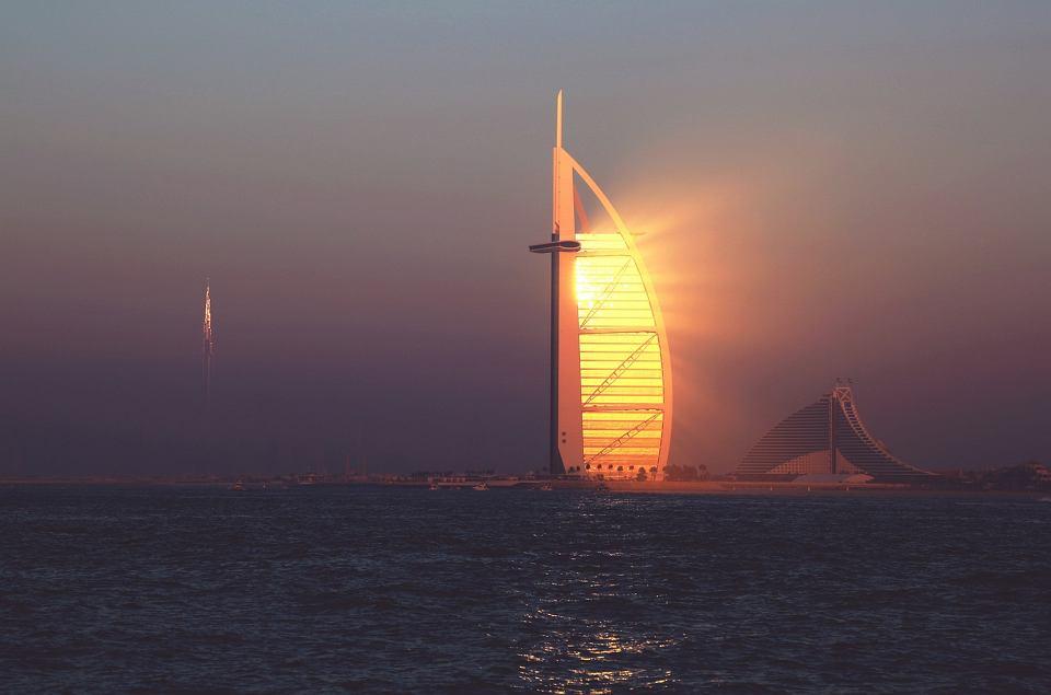 Ikona Dubaju hotel Burj Al-Arab, 9 maja 2019