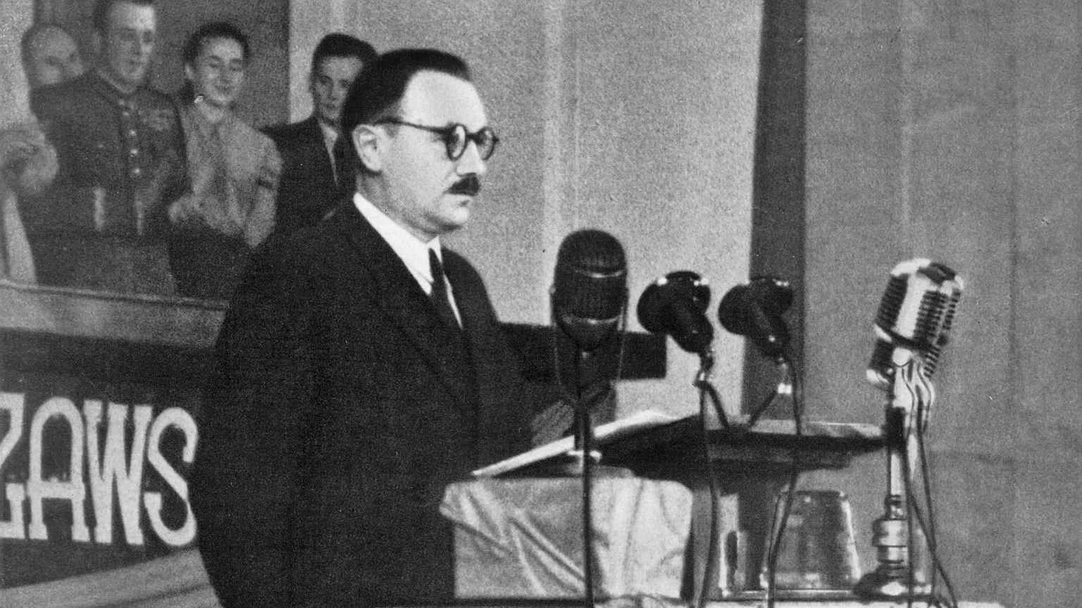 Bolesław Bierut w 1949 r.