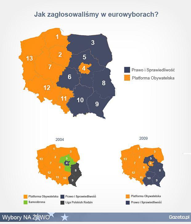 Mapa wyborów