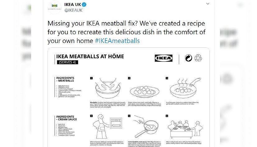 IKEA opublikowała przepis na słynne klopsiki. Można je zrobić samodzielnie w domu
