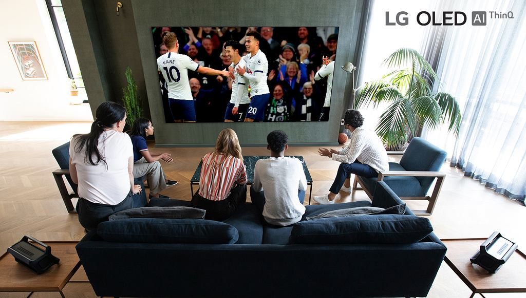 Telewizory LG OLED są idealne do przeżywania piłkarskich emocji