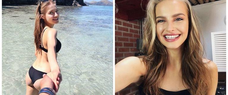 Karolina Pisarek chwali się jędrnymi pośladkami na wakacjach z nowym chłopakiem. To piłkarz i gwiazda Instagrama. Pasują do siebie?