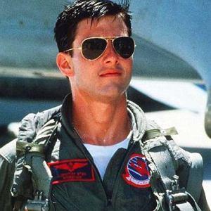 Tom Cruise w filmie ''Top Gun''
