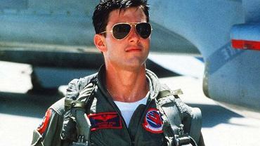 Tom Cruise w filmie ''Top Gun''